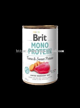 BRIT MONO PROTEIN TUNA & SWEET POTATO CAN Dog Food 400g