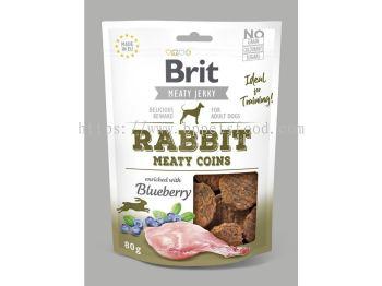 Brit Meaty Jerky Rabbit Meaty Coins 80g