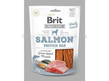 Brit Meaty Jerky Salmon Protein Bar 80g