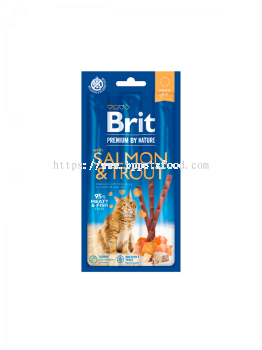 Brit Premium by Nature Cat Sticks with Salmon & Trout