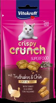 Vitakraft Crispy Crunch Superfood Turkey & Chia 60g