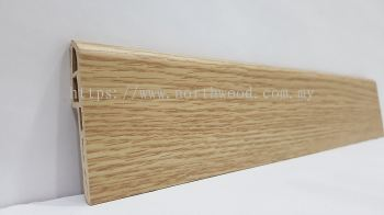PVC Skirting 70mmH Almond