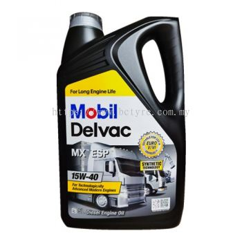 Mobil Delvac MX ESP 15w40 Synthetic Diesel Engine Oil