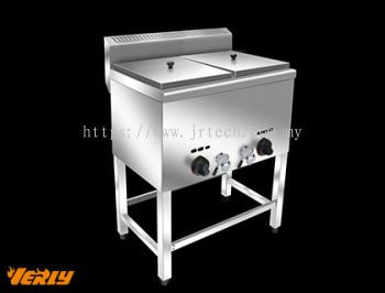 HY-74 2 Tank 2 Basket Gas Fryer