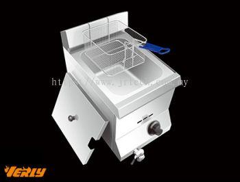 HY-71EX 1 Tank 1 Basket Gas Fryer (Desktop)