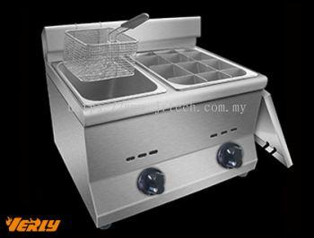 GDF-789 Gas Oden Machine with Fryer