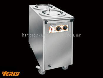 VPW-82 Plate Warmer Cart-2 Head