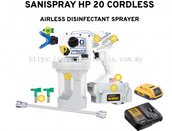Graco SaniSpray HP20 Cordless