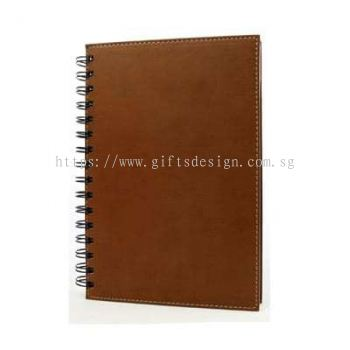 Leather Wire-O Notebook