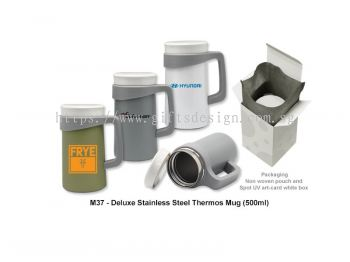 M37 Deluxe Stainless Steel Vacuum Thermos Mug