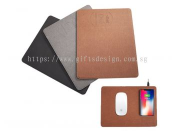 Stylish Mouse Pad with Qi Wireless Charger