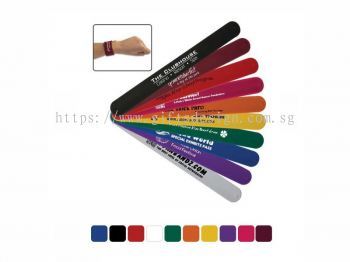 Silicon Slap Bracelet