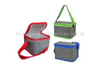 Dual Tone Felt Cooler Bag