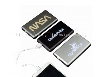 2019 Light up Logo Power Bank 4000mAh