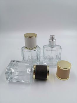PERFUME BOTTLE (30ML) CLEAR SCREW NECK