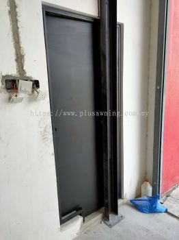 Iron Plate Door @Bukit Angkat, Kajang, Selangor
