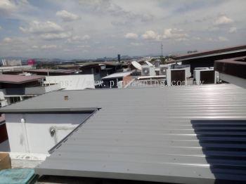 Metal Roofing @Jalan Dutamas 8, Cheras, Selangor