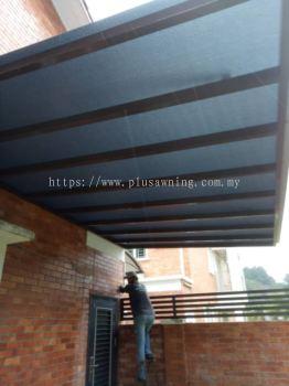 Polycarbonate @Jalan Goodview 2a, Goodview Heights, Kajang, Selangor