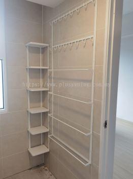 Bathroom Hanging Shelf & Standing Shelf @Windmill Upon Hills, Jalan Permai, Genting Permai Avenue, Pahang