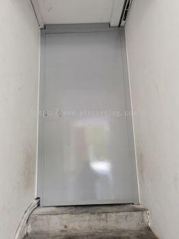 Iron Door Plate @Jalan Airport City 1, Airport City Business Centre, Kota Warisan, Sepang