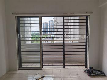 Sliding Door Grill @Jalil Damai Apartment, Bukit Jalil, Kuala Lumpur