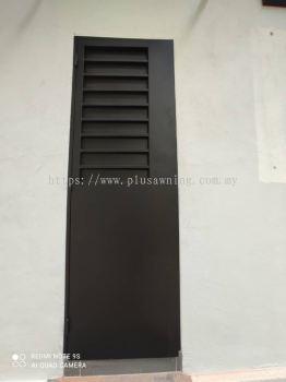 Grill Door 2in1 with Sliding Panel @Jalan Midah 7, Taman Midah, Kuala Lumpur