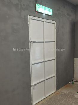 Iron Plate Door @Jalan Seri Bintang 2, Taman Sri Bintang, Kuala Lumpur