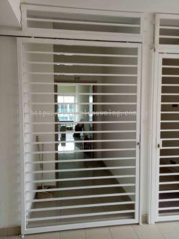 Sliding Door Grill @Sungai Long Residence, Kajang, Selangor