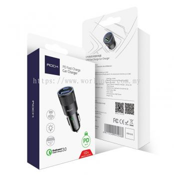 ROCK H5 PD Fast Car Charger