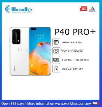 Huawei P40 Pro + (White)