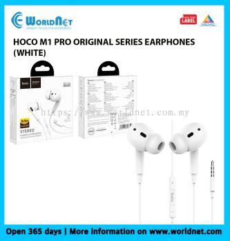 HOCO M1 PRO ORIGINAL SERIES EARPHONES (WHITE)