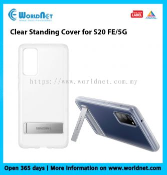 CLEAR STANDING COVER for S20 FE