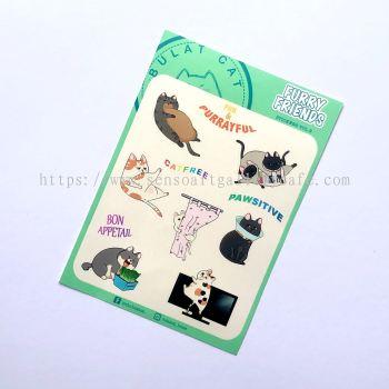 Cat Sticker Series-Purrayful