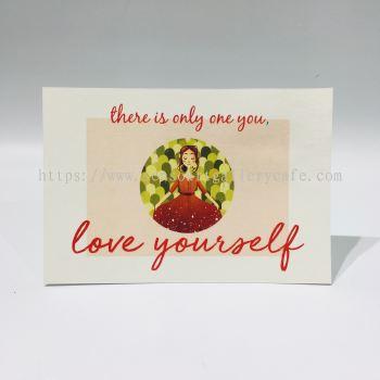 Love Yourself Postcard