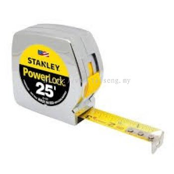 Stanley Power Lock Measuring Tape (8meters)