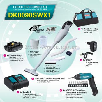 Makita DK0090SWX1 Cordless Combo Kit