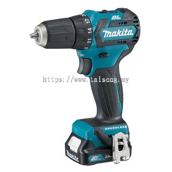 """Makita DF332DSME/ SAE/ Z 10mm (3/8"""") 12Vmax Cordless Driver Drill"""