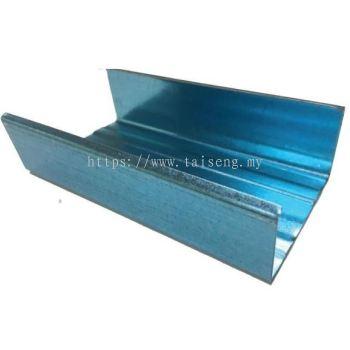 Blue Aluzinc C channel C Section 20 Feets