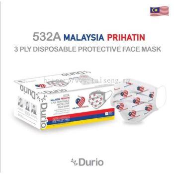 Durio 531A 3 Ply Protective Mask 50 pcs
