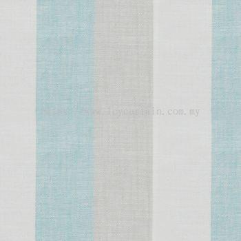 Stripe Curtain Linen Field Esplanade 08 Cascade