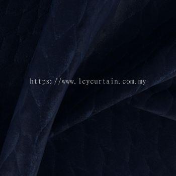 Premium Quilt-Velvet Uphosltery Quilvet Lea 11 Ink