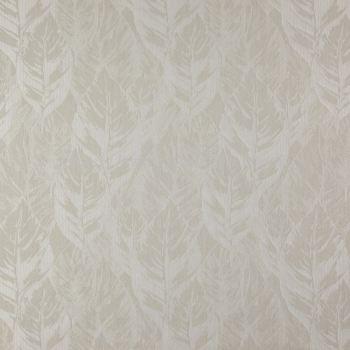 Premium European Polyester Viscose & Cotton Leaves Curtain Arteko Fenton 11 Natural