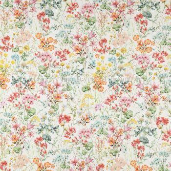 Premium European 100% Cotton Curtain Hibiscus 01 Spring