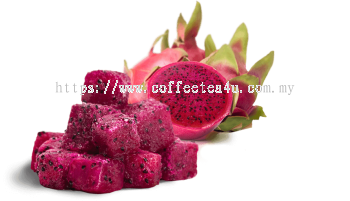 Dragon Fruit Chunk, 1kg/pkt