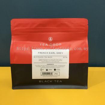 TEA DROP French Earl Grey Tea (62.5gm*25sachet/pkt)