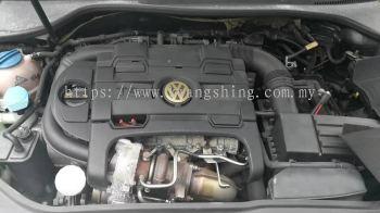Volkswagen MK5 Half cut engine
