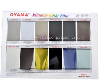 Oyama Window Solar Film