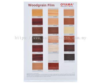 Wood Grain Film