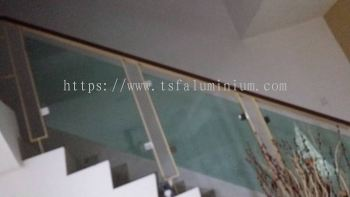 Glass Stainless Staircase