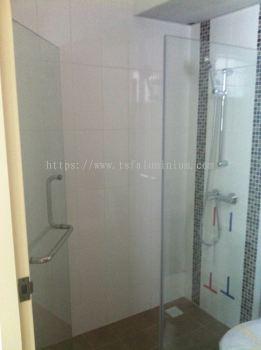 Shower Screen Fixed Glass & Door